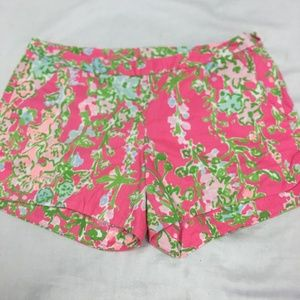 Lilly Pulitzer Adie 4 inch Shorts Size 2